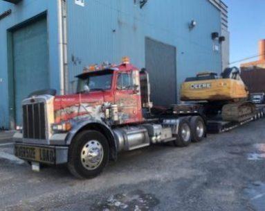 oversize load truck